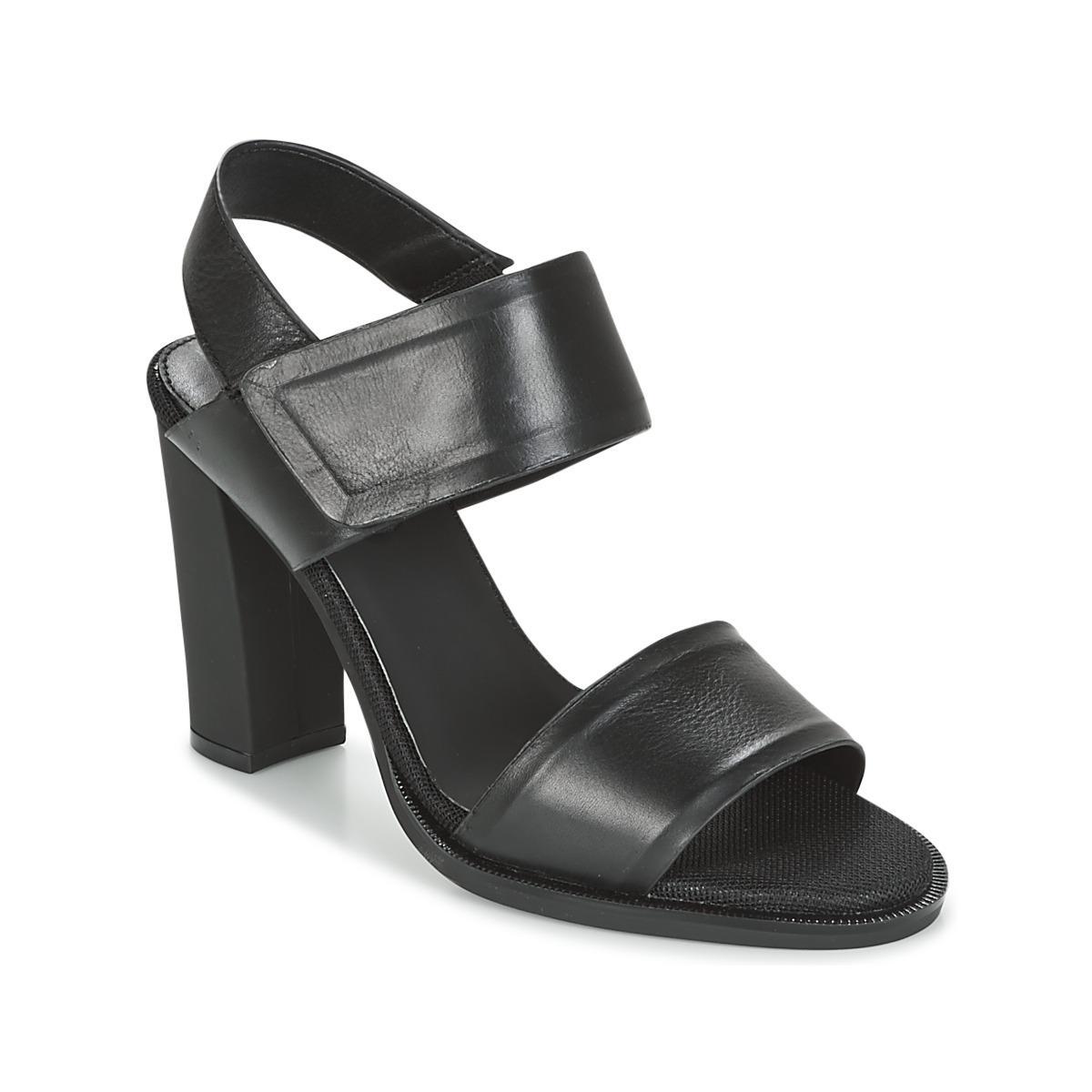 G-Star CORE STRAP - Sandals - black