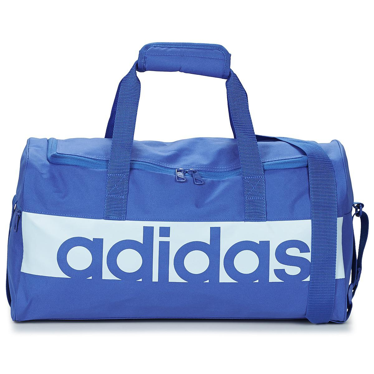 9d5af84246d4 Adidas Linear Teambag Small Women s Sports Bag In Blue in Blue for ...