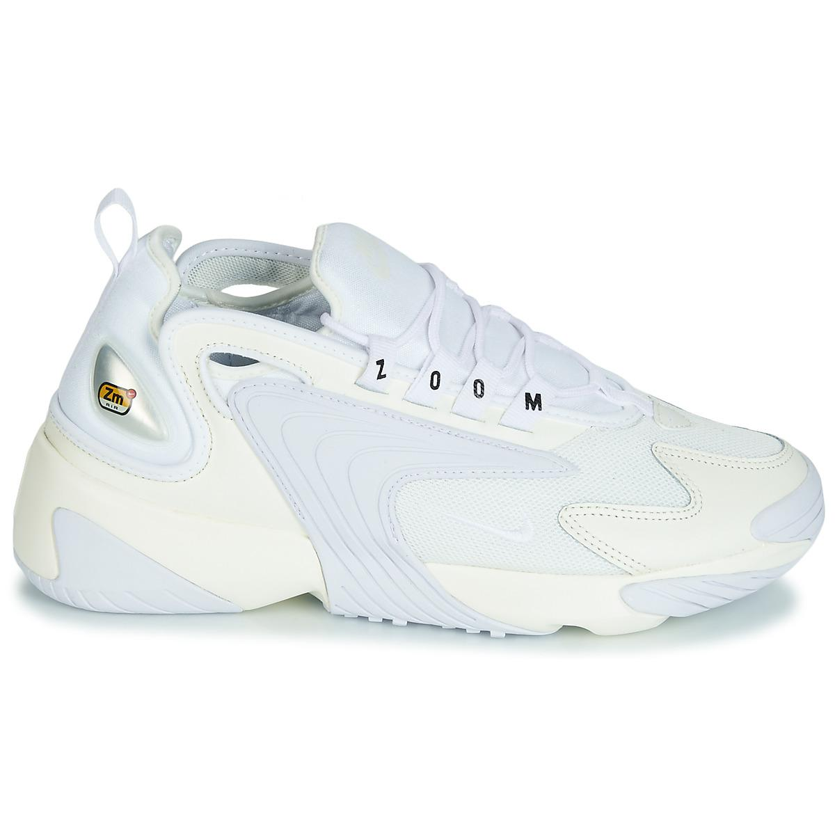 409cc5afda74 Nike Zoom 2k W Women s Shoes (trainers) In White in White - Lyst