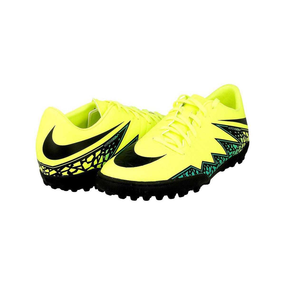 09da72ba7 Nike Hypervenom Phelon Ii Tf Men's Football Boots In Yellow in ...