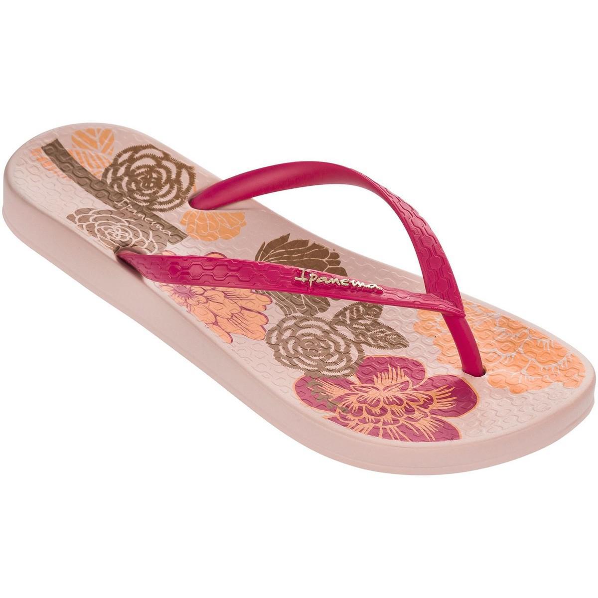 5153b2db8a4bec Ipanema - Petal V Flip Flops In Pink Flowers Print 81924 Women s Flip Flops    Sandals