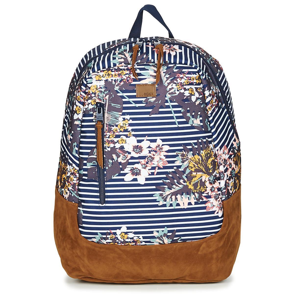 9df38a297c1b Roxy Free Your Wild Women s Backpack In Blue in Blue for Men - Lyst