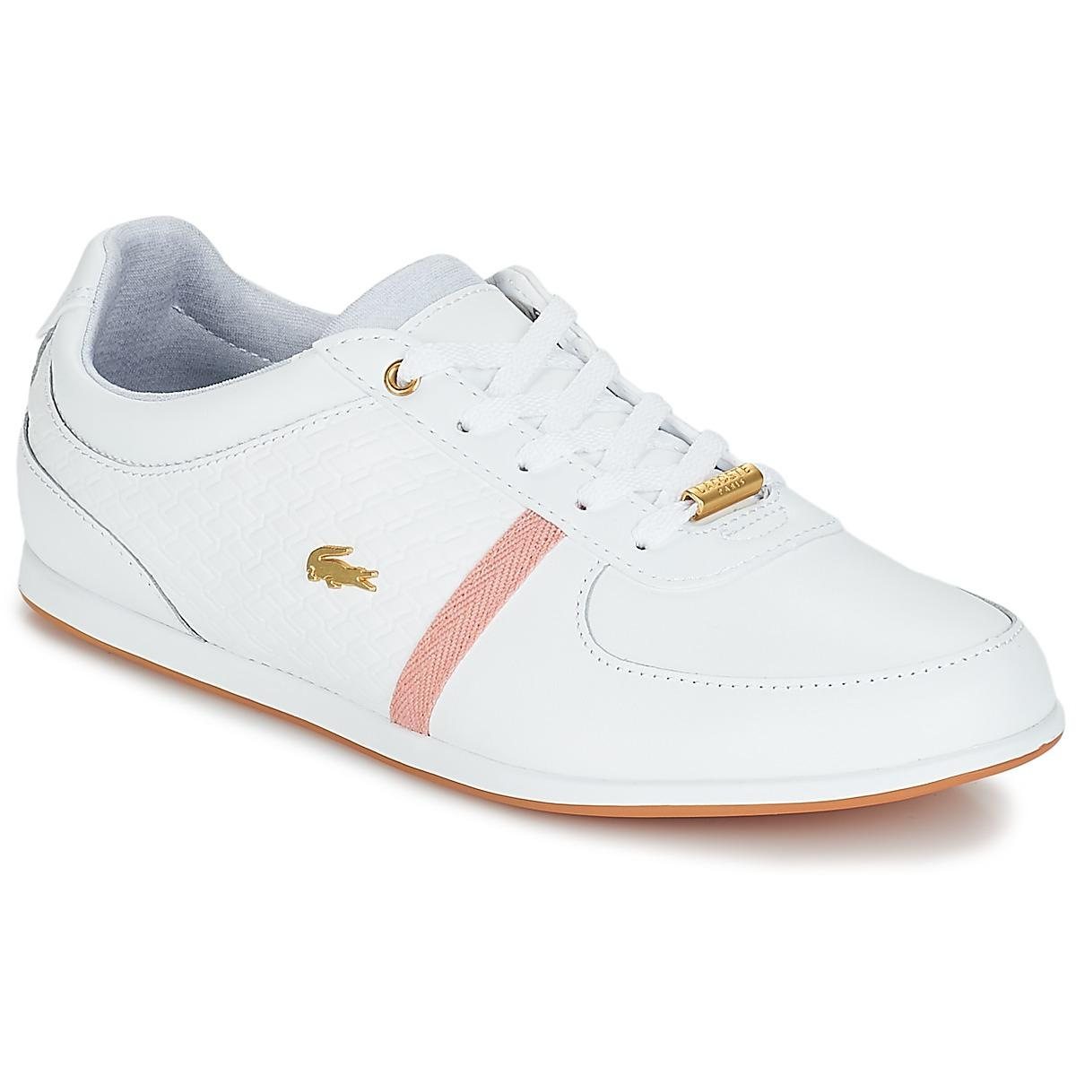 b01cbc8be897 Lacoste Rey Sport 318 1 Women s Shoes (trainers) In White in White ...