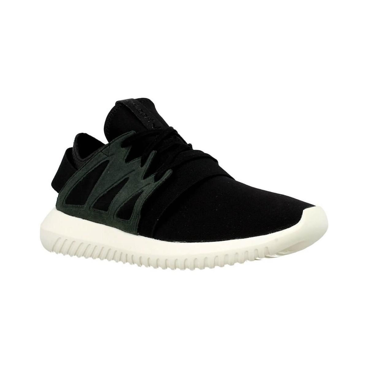 adidas tubular viral w women 39 s shoes trainers in black. Black Bedroom Furniture Sets. Home Design Ideas