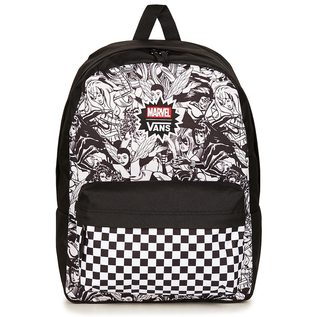 c2519c07c72620 Vans Marvel Women Realm Backpack Men s Backpack In Black in Black ...