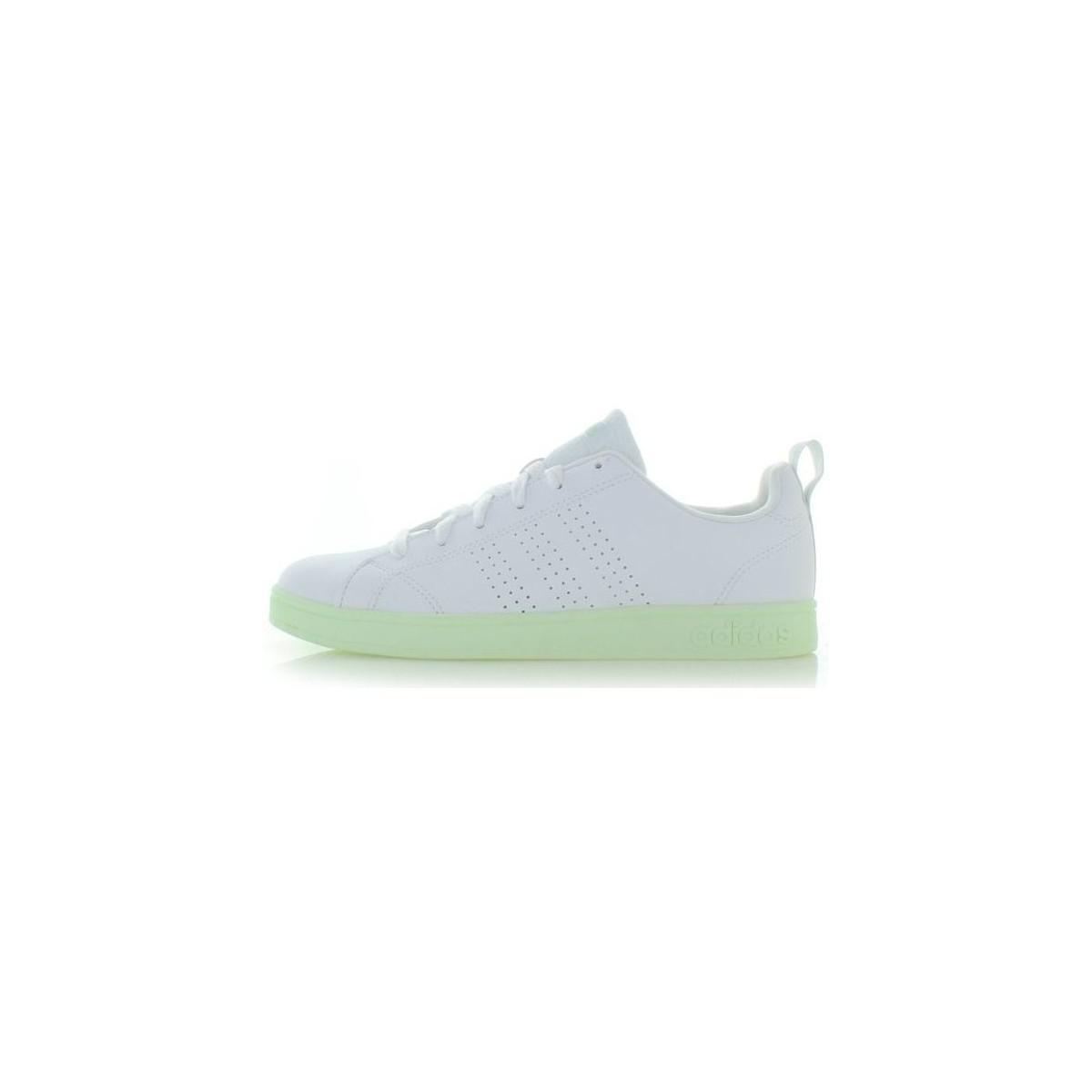 Adidas vs ventaja cl db1334 zapatos de mujer (instructores) en blanco en