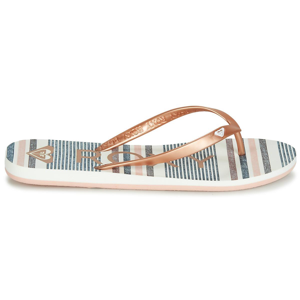 46dceb1be Roxy - Metallic Tahiti Vi J Sndl Mul Women s Flip Flops   Sandals (shoes).  View fullscreen