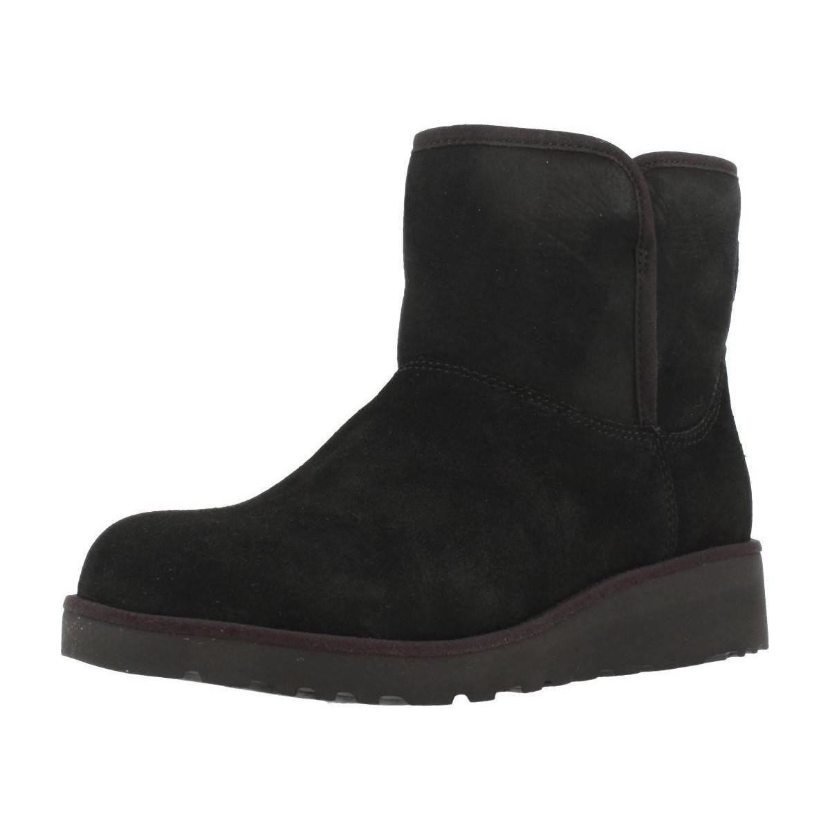 17a76d3b60c Ugg W Kristin Women's Low Ankle Boots In Black in Black - Lyst