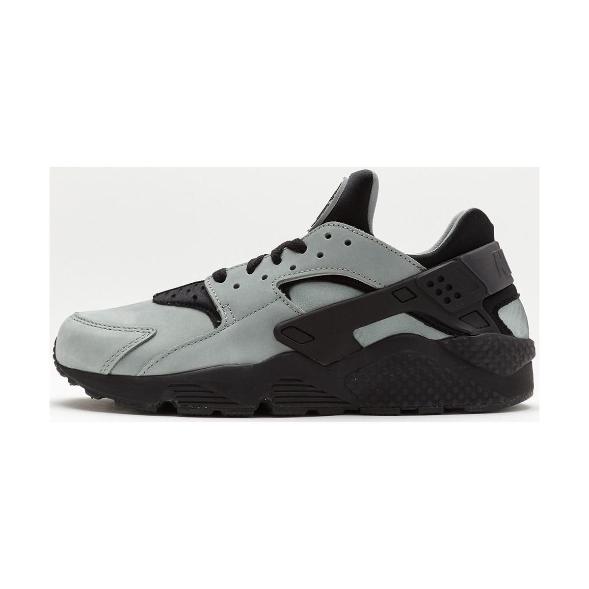93f3383a46aa Nike Air Huarache Premium Trainers In Mica Green Black 704830 301 ...
