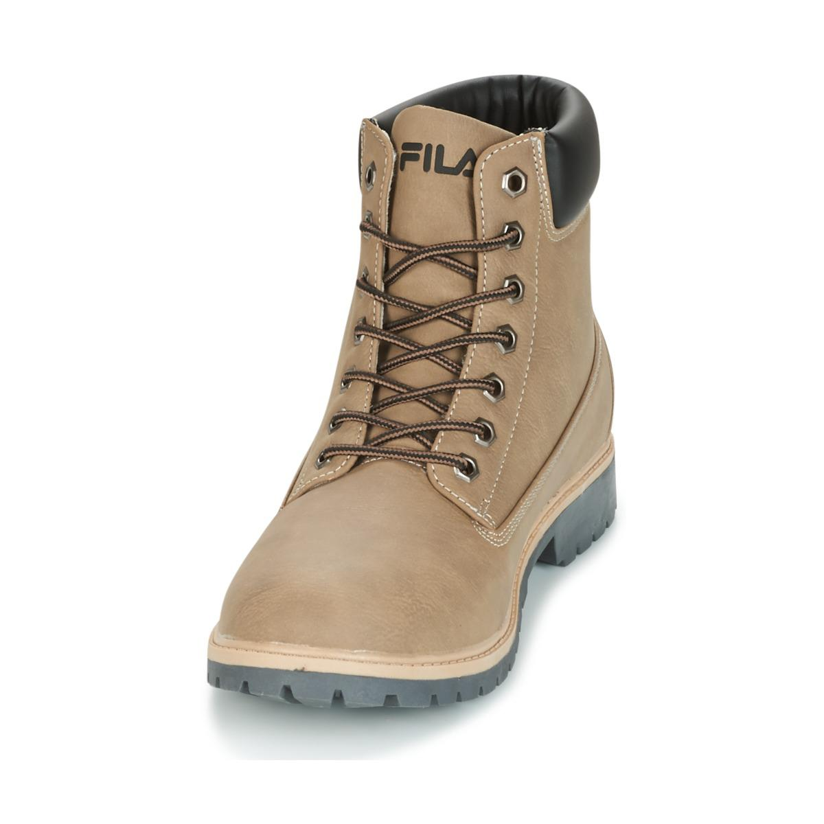 Lyst Fila Maverick Mid Men S Mid Boots In Brown In Brown