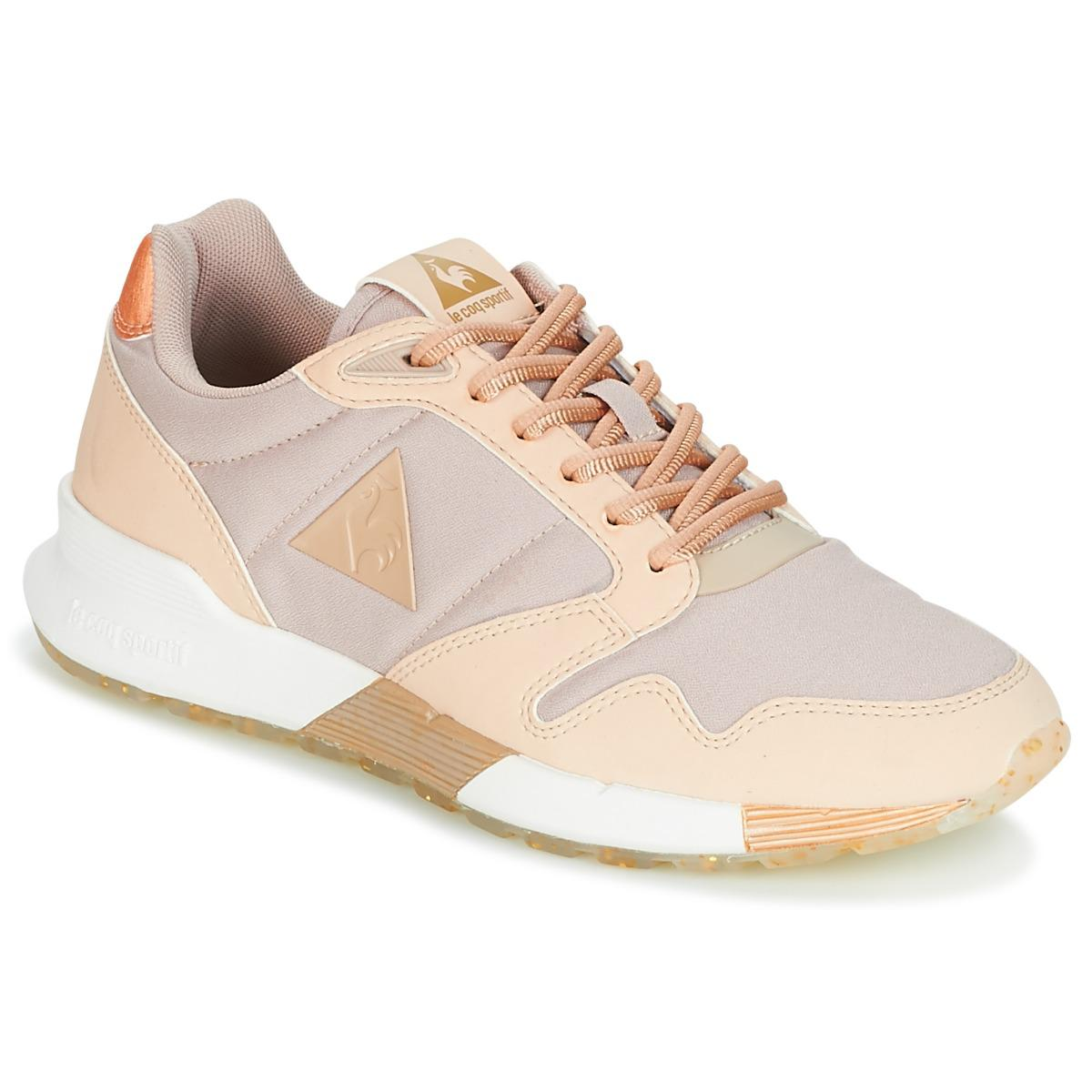 e45a8008e1ff Le Coq Sportif Omega X W Metallic Women s Shoes (trainers) In Pink ...