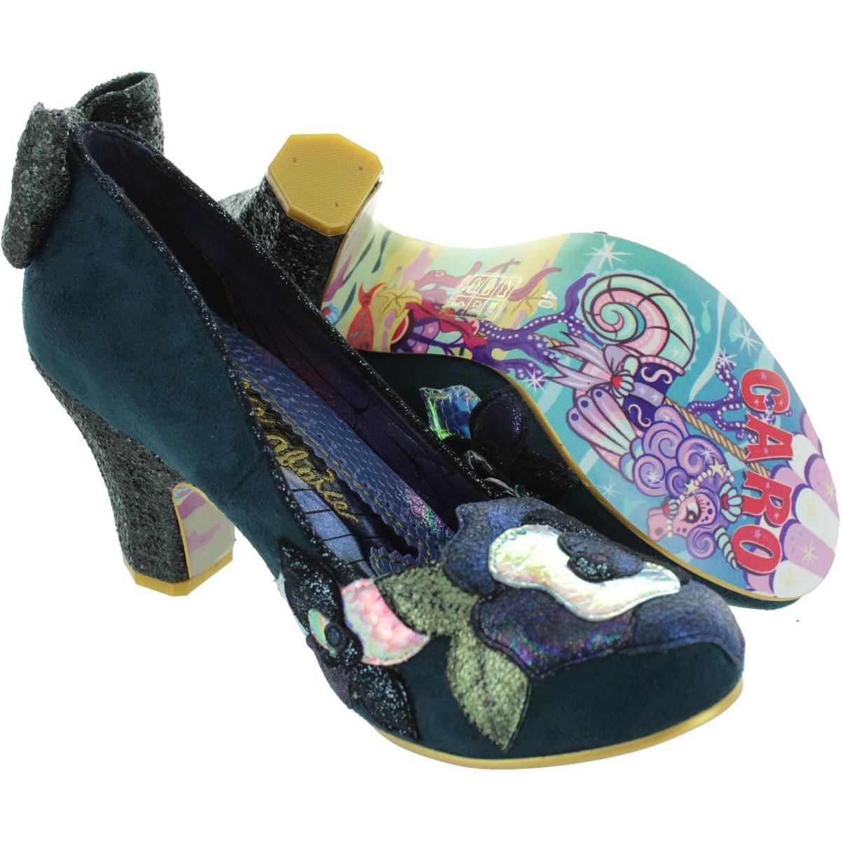 21fe99bdf6 Irregular Choice Endless Dreams Women s Court Shoes In Green in ...