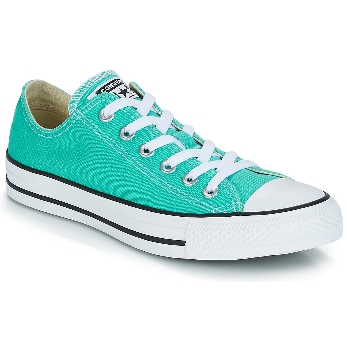 82fd23697870 Converse. Blue Chuck Taylor All Star Ox Men s Shoes (trainers) In  Multicolour