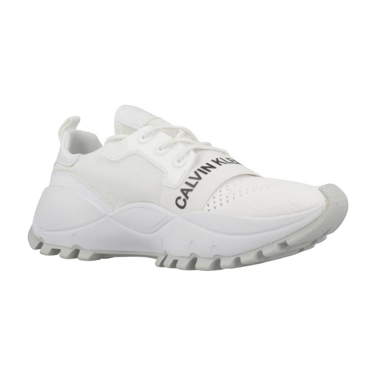 9cea4f5db11 Lyst - TALULA KNIT MESH femmes Chaussures en blanc Calvin Klein en ...