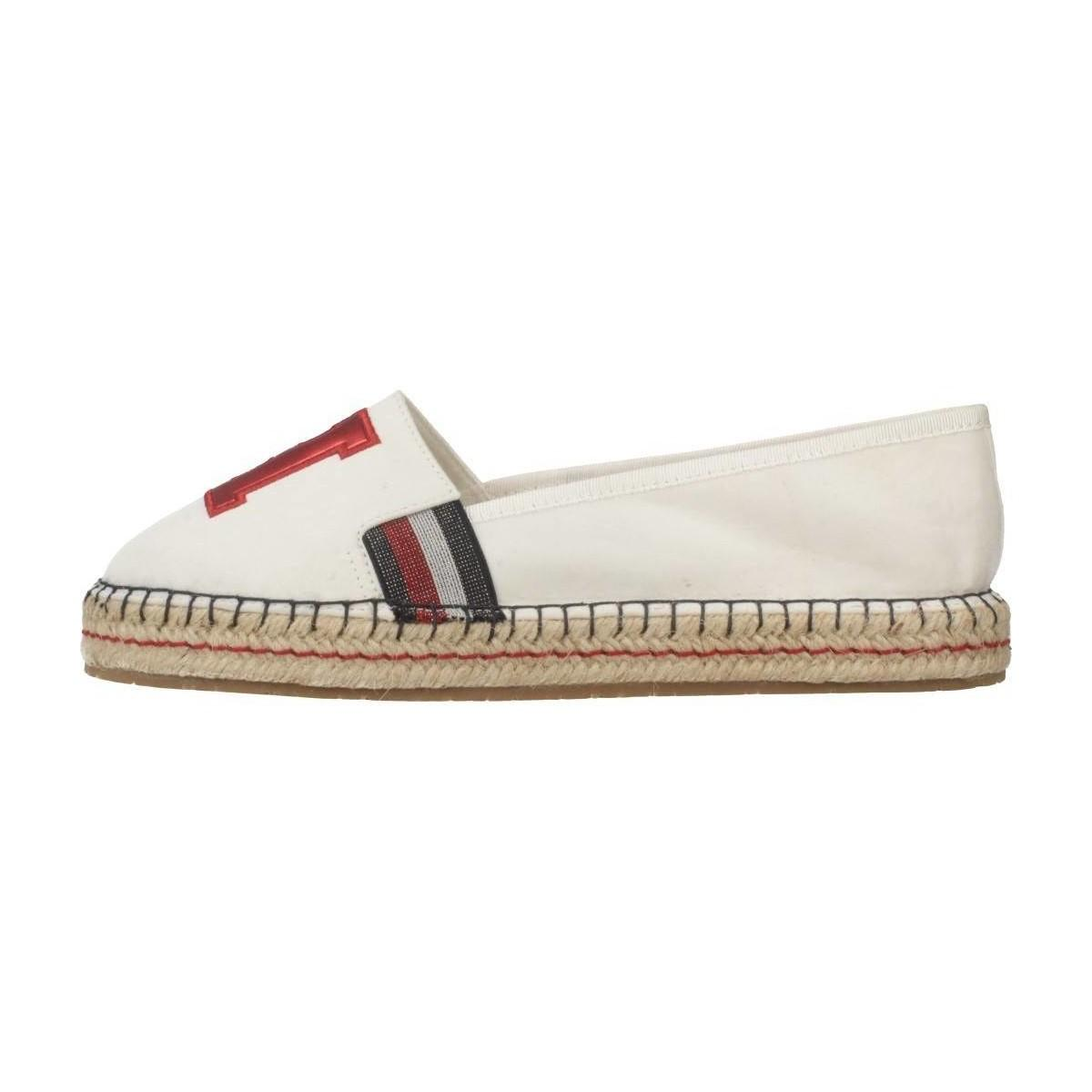 fbc14a0f517a8 Tommy Hilfiger - Fw0fw03846 Women s Espadrilles   Casual Shoes In White -  Lyst. View fullscreen