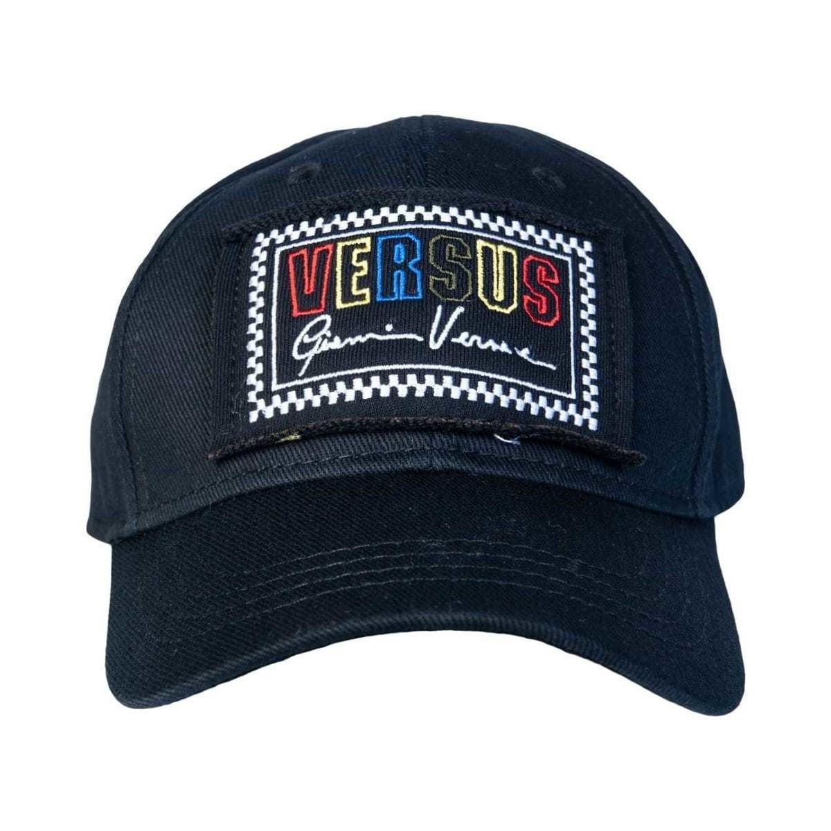 dfe6ba7d7cf Versus Versace Cap Buc0053 Bt10524 Men s Cap In Black in Black for ...