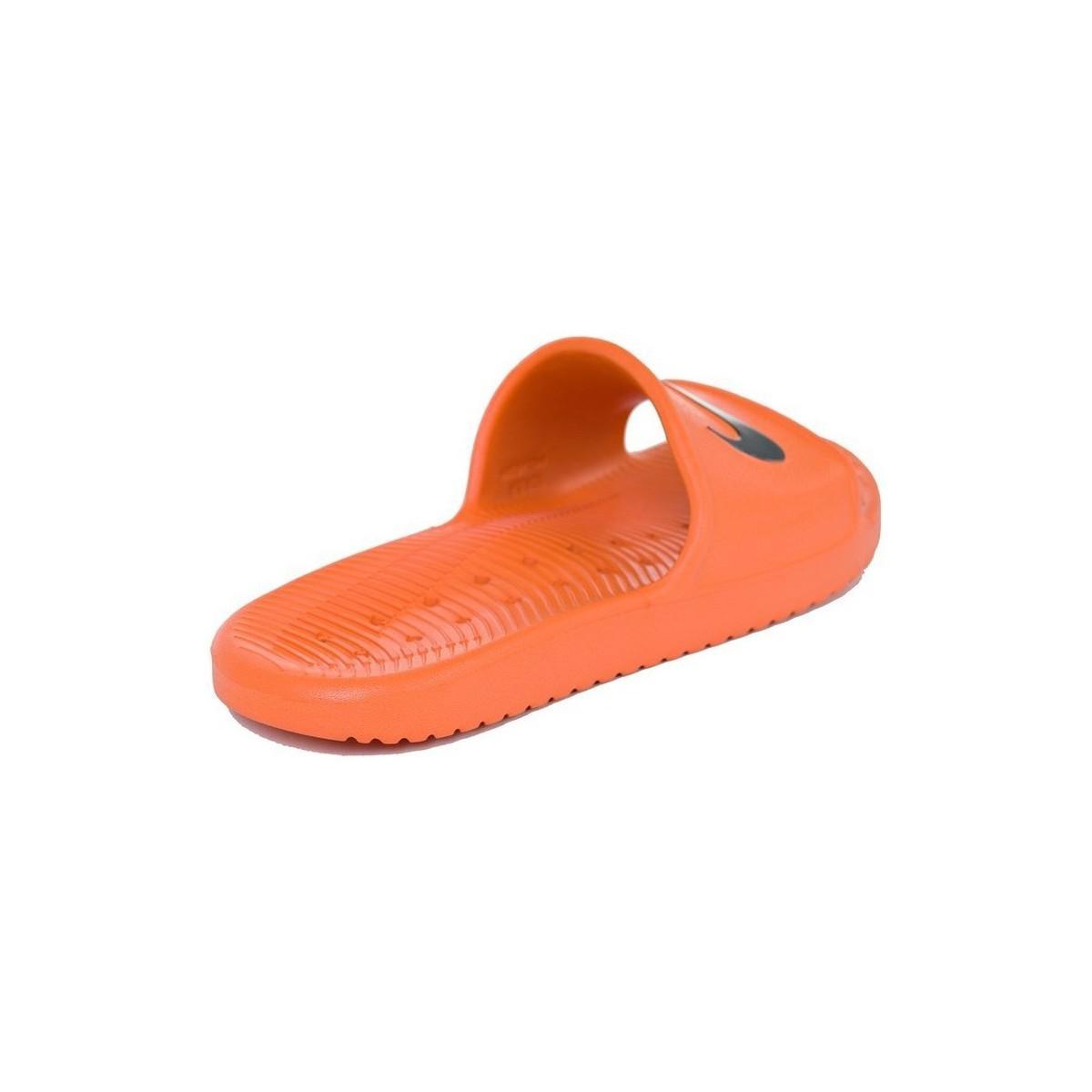 069bdadb6b8162 Nike Kawa Men s Sandals In Orange in Orange for Men - Save ...