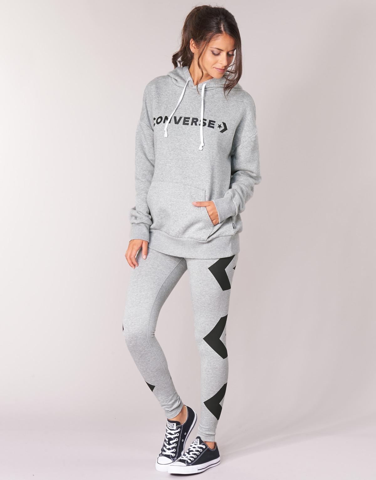 a936eddc6838 Converse Star Chevron Oversized Pullover Hoodie Women s Sweatshirt ...