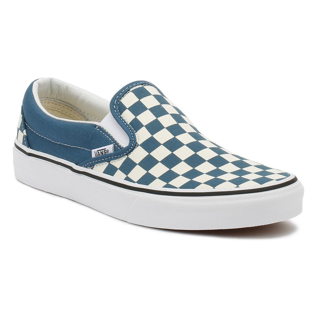 f94a50e8ea3 Vans. Corsair   True White Checkerboard Classic Slip On Trainers Women s ...