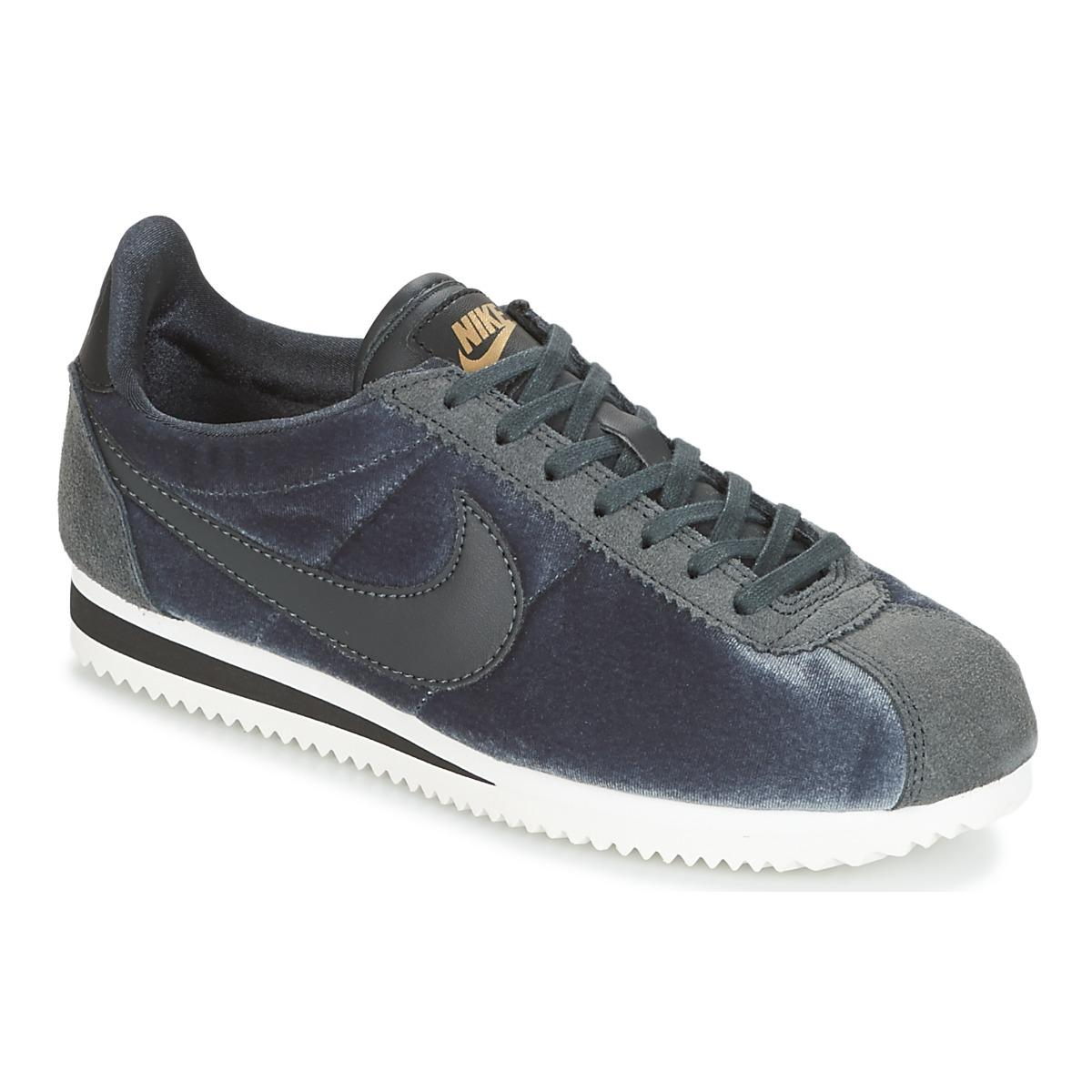 db3f7e26caa5 Nike Classic Cortez Suede W Women s Shoes (trainers) In Blue in Blue ...