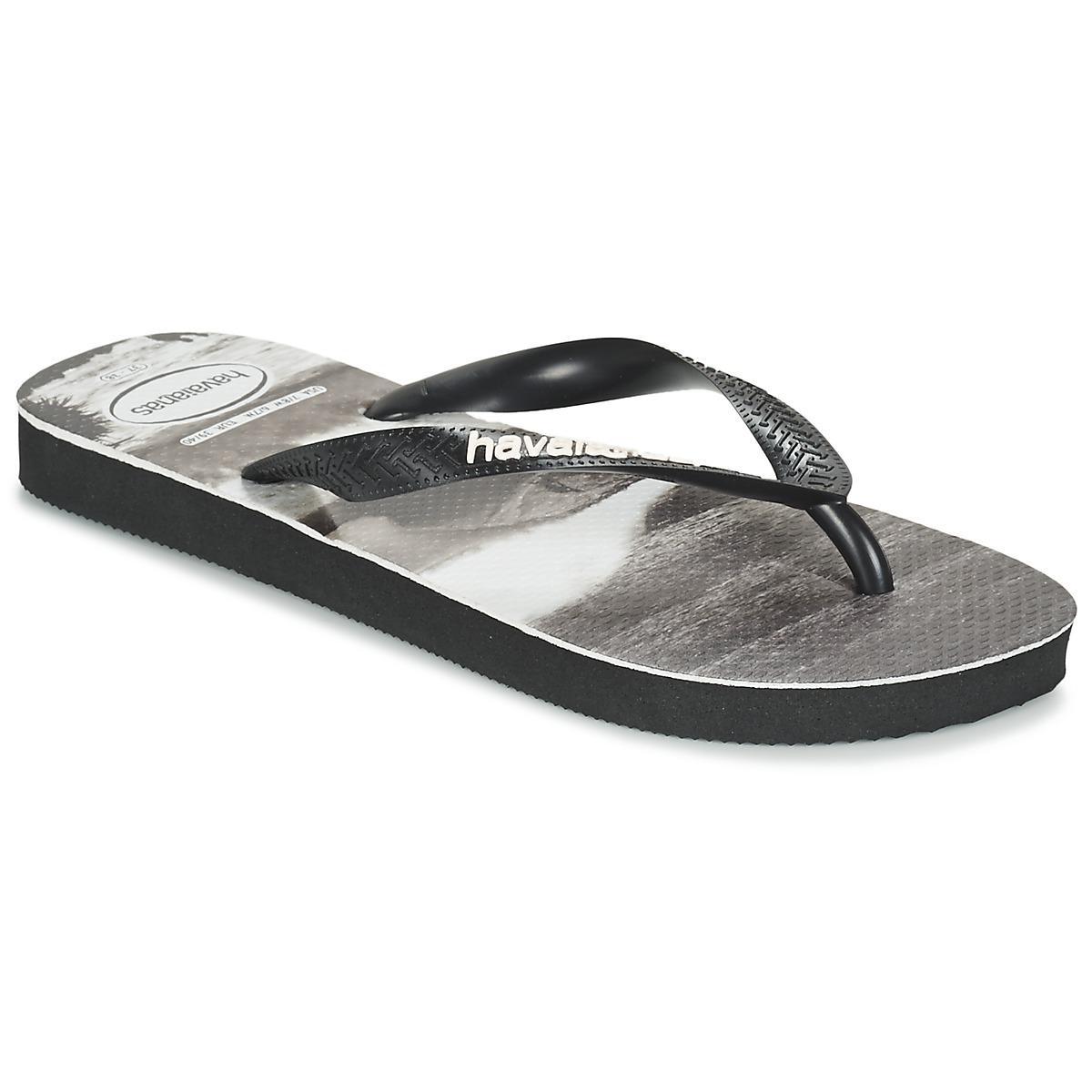 eae1af9441d6 Havaianas Photoprint Men s Flip Flops   Sandals (shoes) In Black in ...