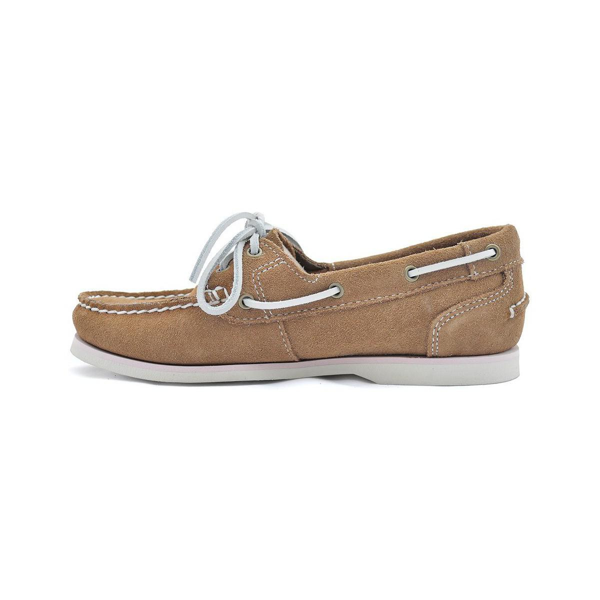 b9854d17879 Timberland Classic Boat Women s Loafers   Casual Shoes In Beige in ...