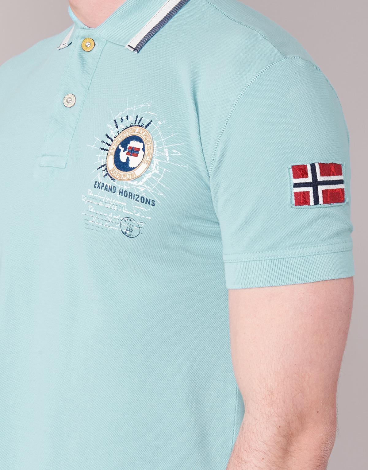 uroczy outlet na sprzedaż najlepiej sprzedający się Napapijri Gandys Men's Polo Shirt In Blue in Blue for Men - Lyst