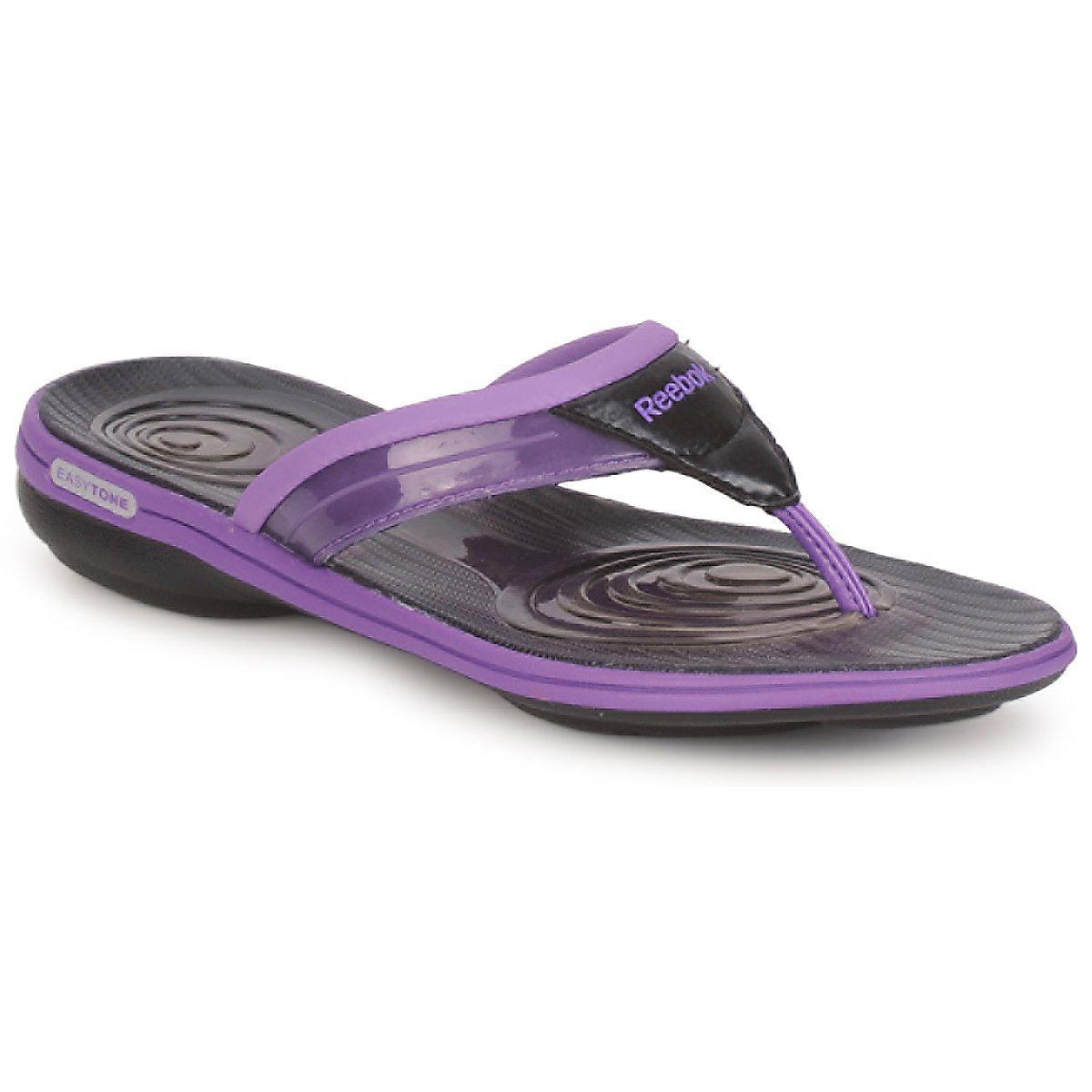 3b5a9e822f58c1 Reebok - Easytone Plus Flip Women s Flip Flops   Sandals (shoes) In Purple  -. View fullscreen