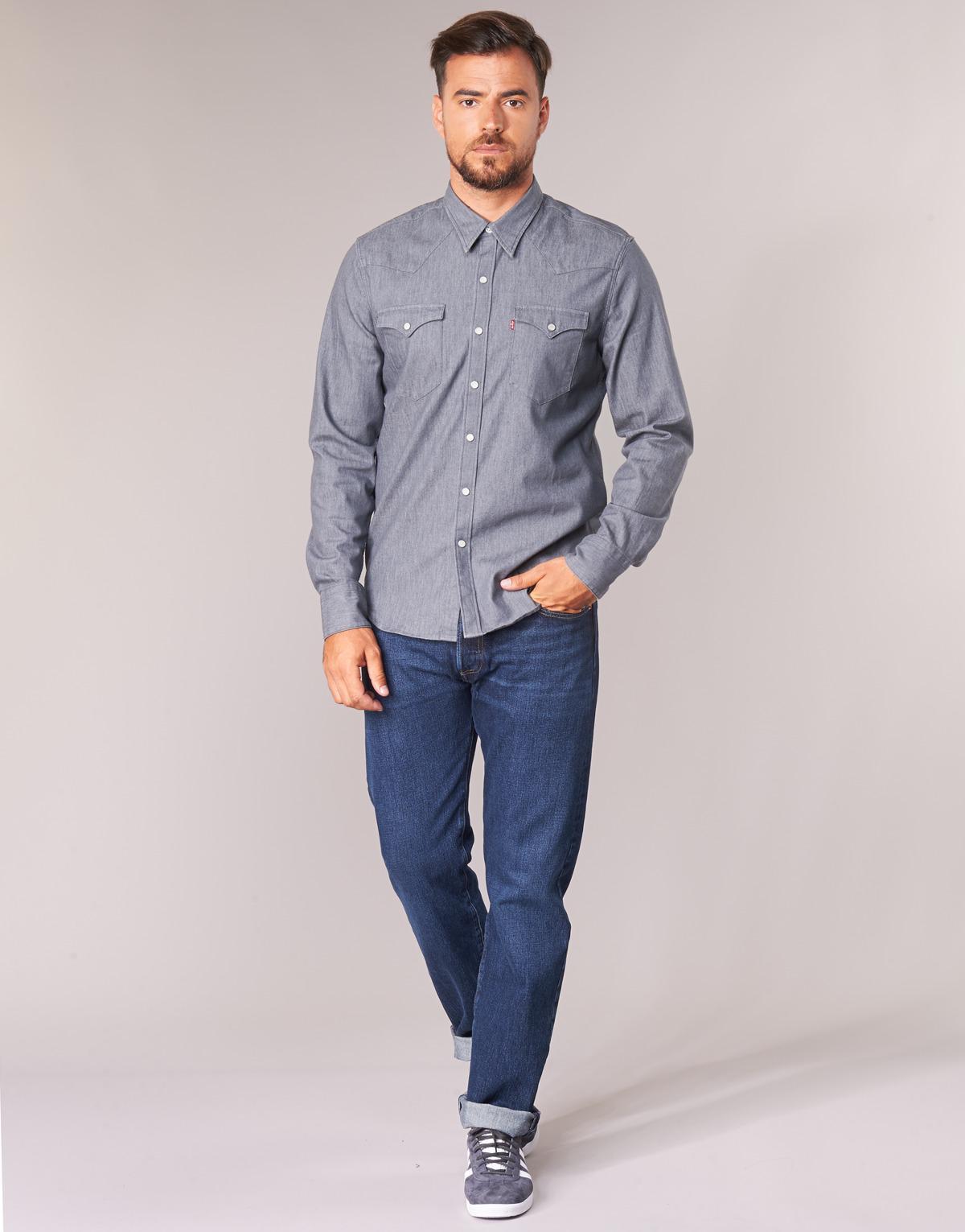 983d4000f8c Levi's Levis 501 Original Fit Men's Jeans In Blue in Blue for Men - Lyst