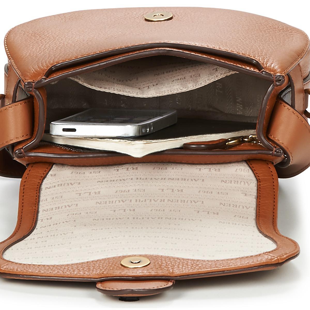 5111f3fba8bd Lauren by Ralph Lauren Barrington Saddle Women s Shoulder Bag In ...