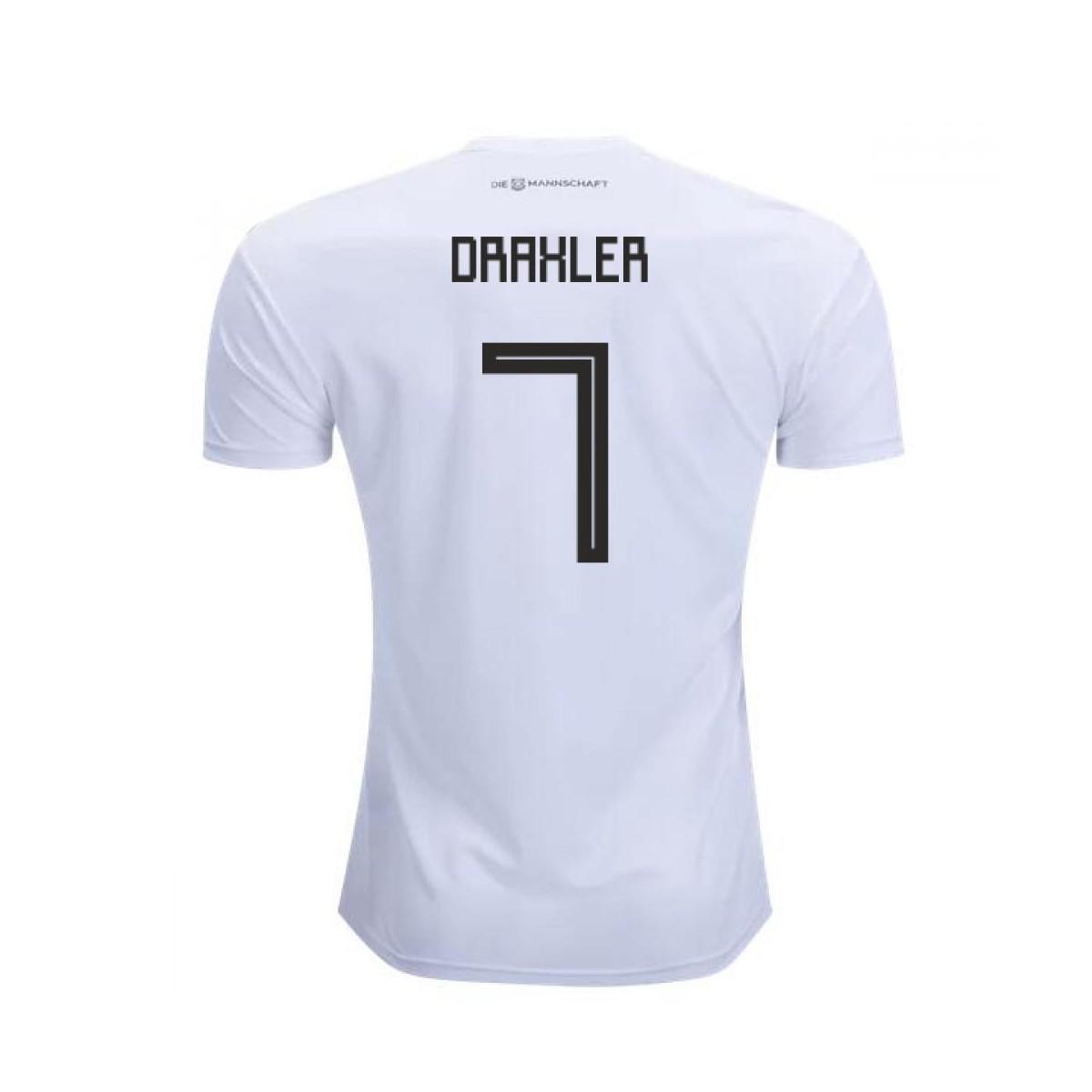 67580e7ff10 Adidas 2018-2019 Germany Home Football Shirt (draxler 7) Women s T ...