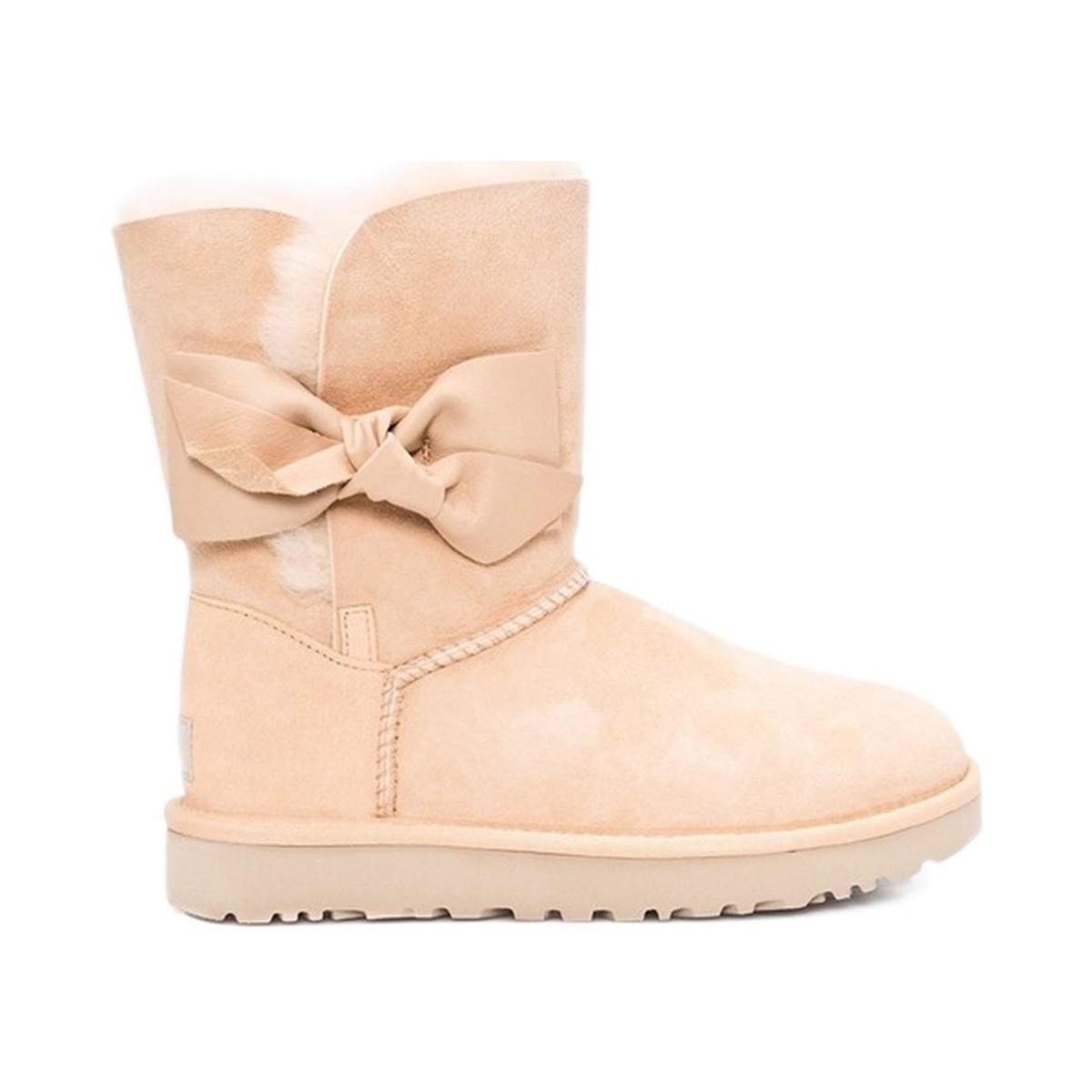 dcbcab205b9 UGG Daelynn Women's Snow Boots In Beige in Natural - Lyst