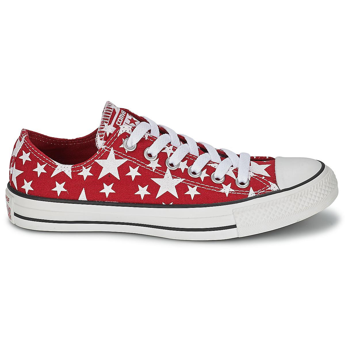 57c4fc49d9 Converse - Chuck Taylor All Star Multi Star Print Ox Men's Shoes (trainers)  In. View fullscreen