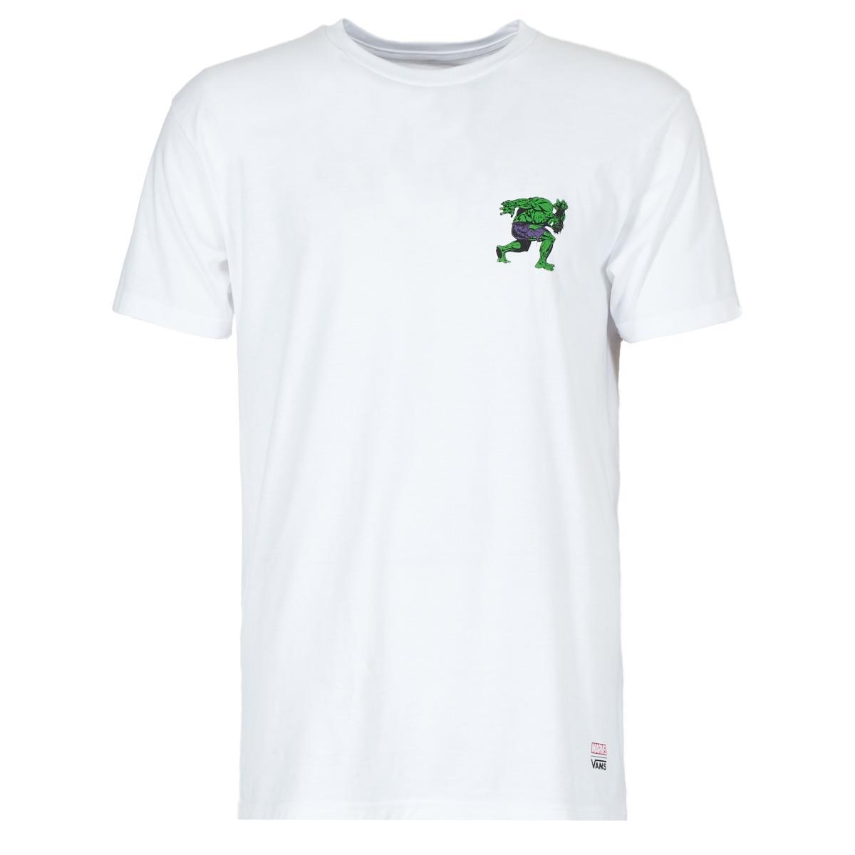 e5c8642ee Vans X Marvel Hulk Ss T Shirt in White for Men - Lyst