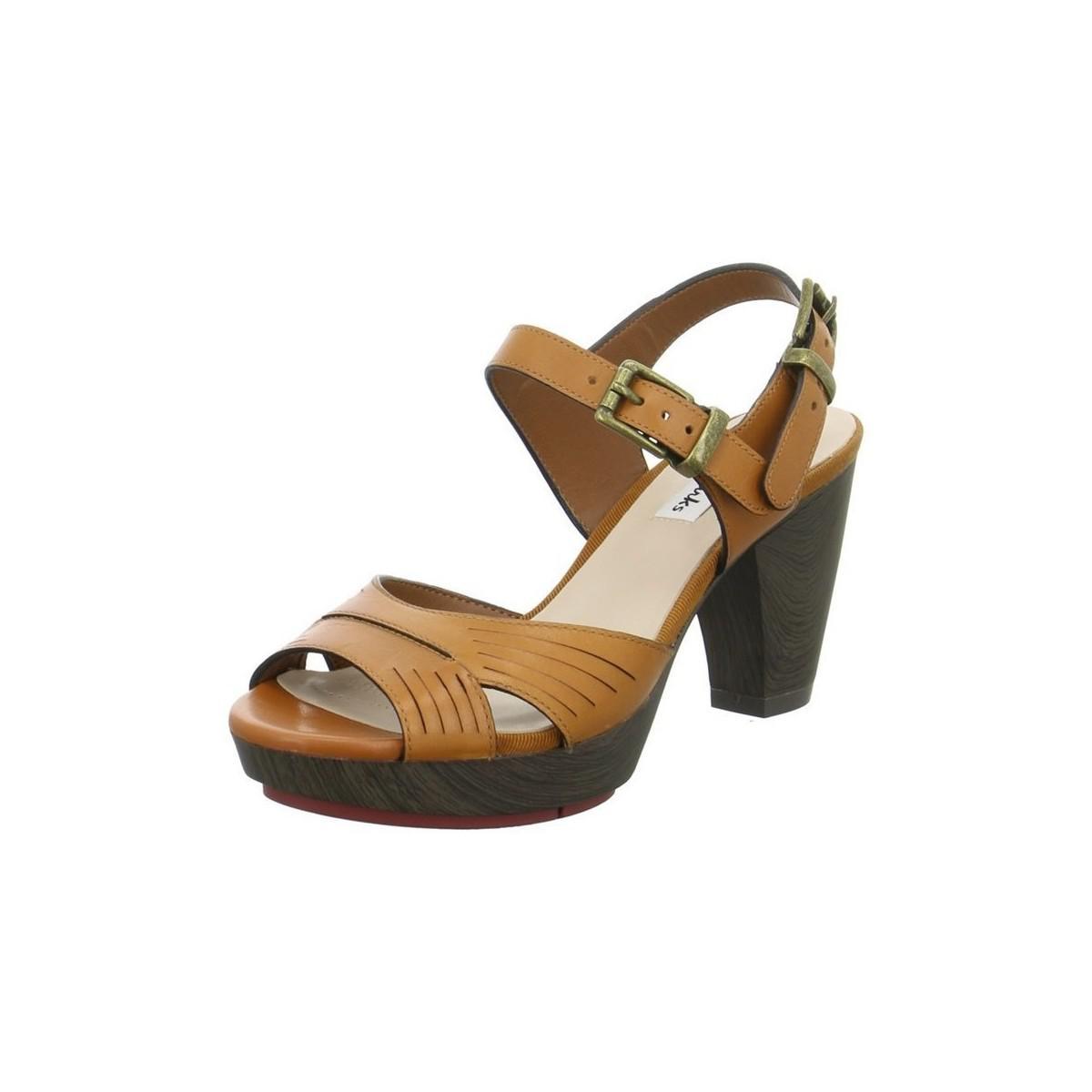6d659b2ee Clarks Pawpaw Glass Women s Sandals In Brown in Brown - Lyst