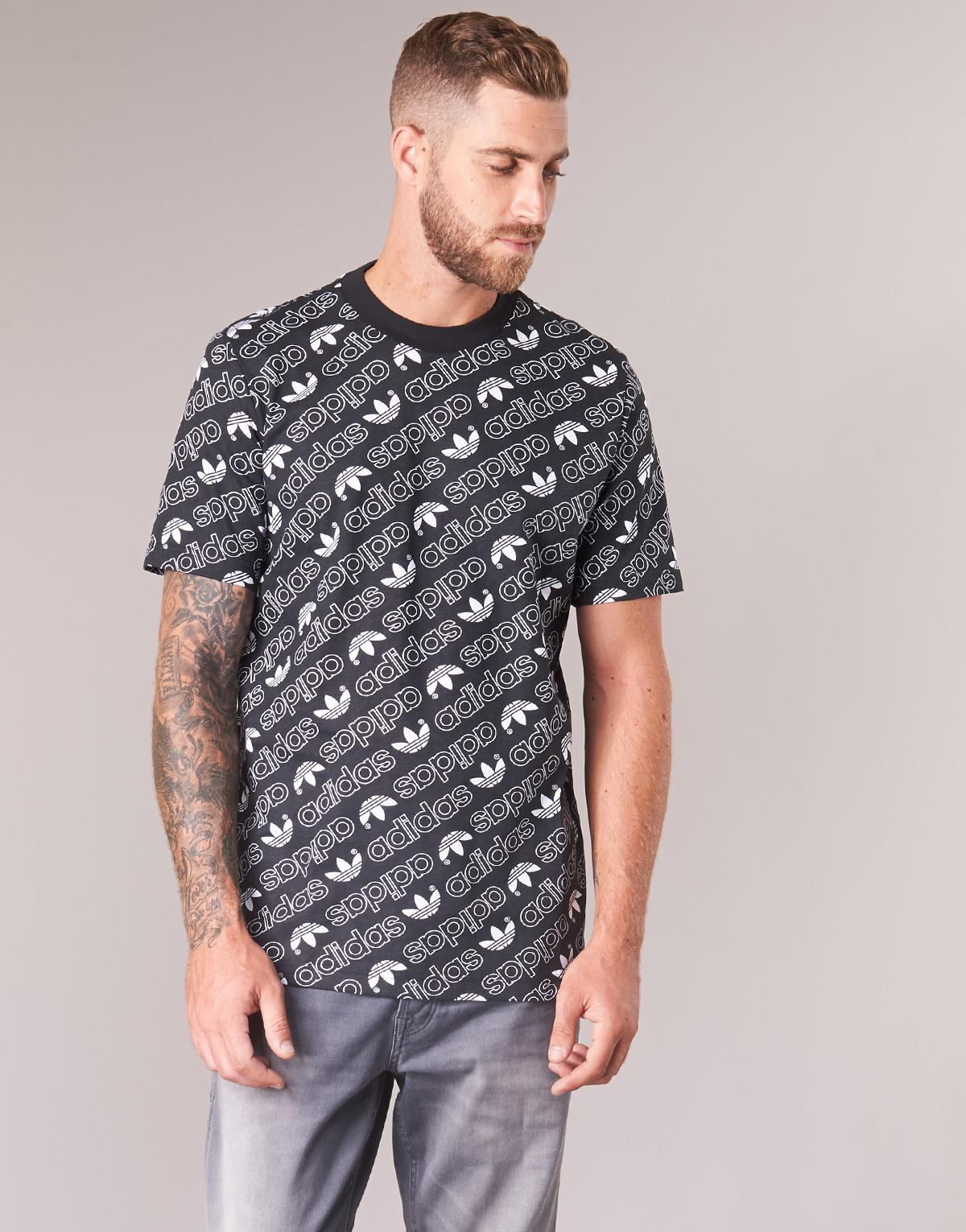 a1f51fad adidas Monogram Tee Men's T Shirt In Black in Black for Men - Save 67% -  Lyst
