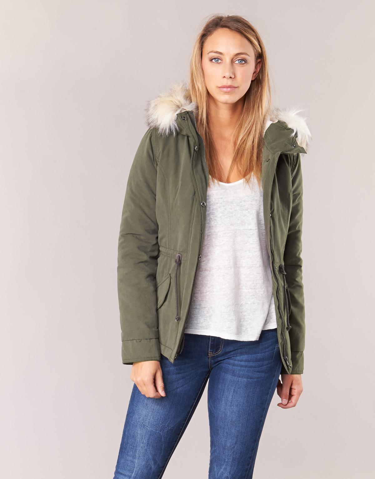 ONLY New Luca Parka in Green - Save 9% - Lyst 80d39eb5f5