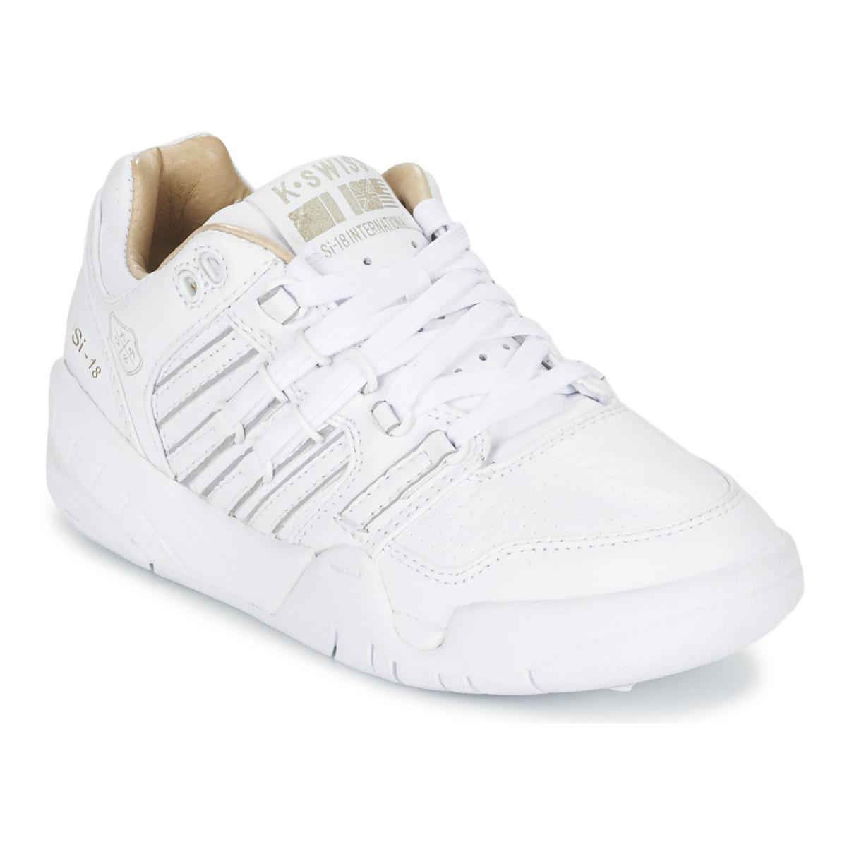 k swiss si 18 international lux women 39 s shoes trainers. Black Bedroom Furniture Sets. Home Design Ideas