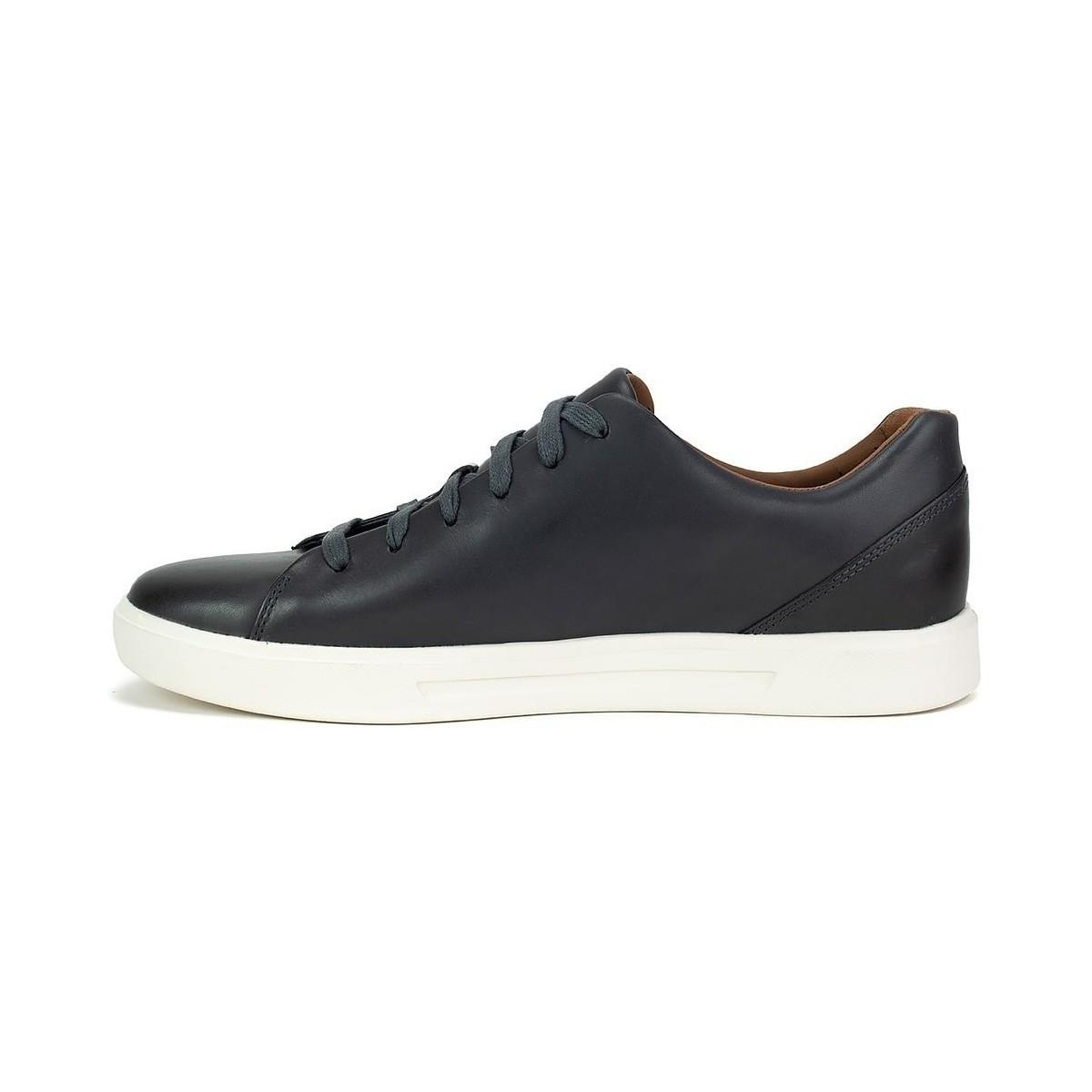 cd17e204991ee Clarks - Un Costa Lace Men's Shoes (trainers) In Black for Men - Lyst. View  fullscreen