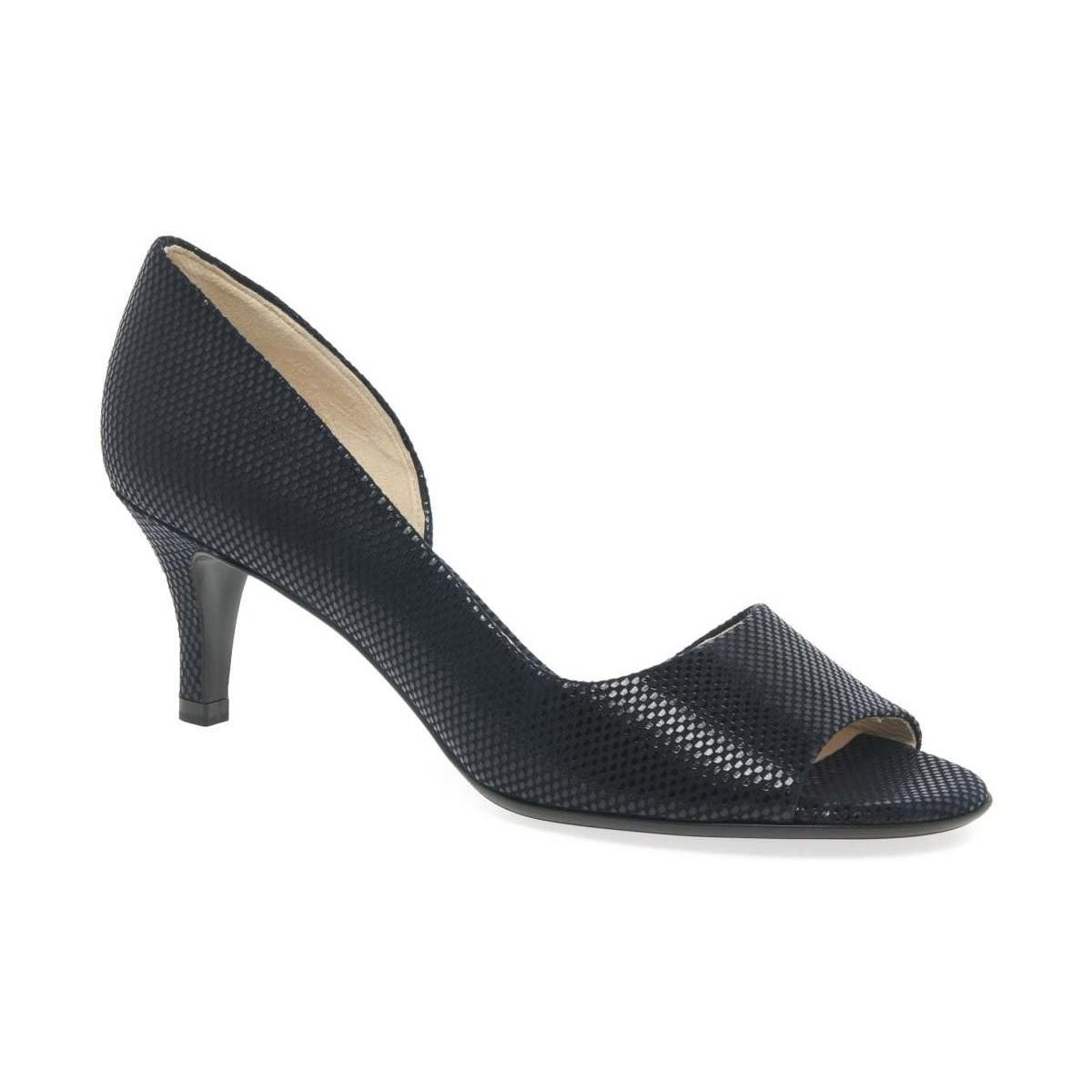 Black 'jamala ii' womens open toe court shoes cheap for nice the cheapest cheap online excellent sale online hAmfexbHw