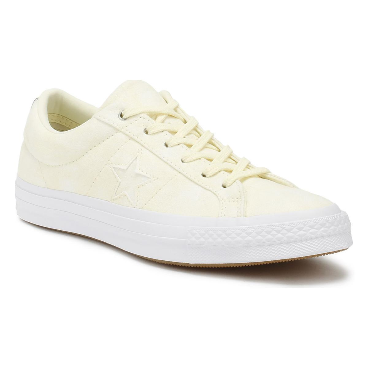 d2ce88d4ca8 Converse One Star Women s Shoes (trainers) In Yellow in Yellow ...