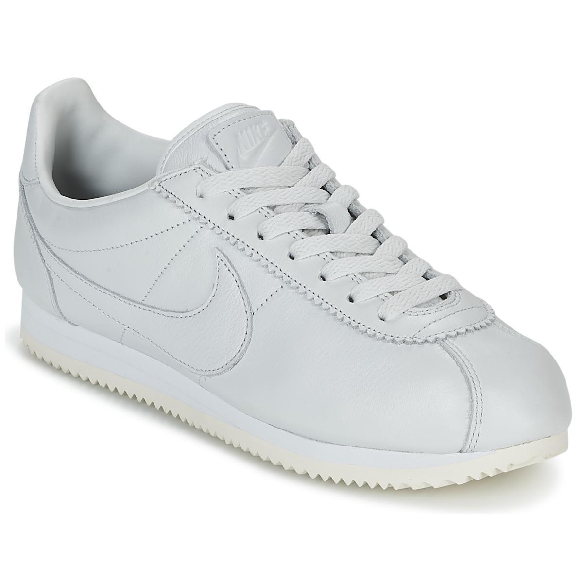 sale retailer a4906 77e3d Nike. Classic Cortez Premium Men s Shoes (trainers) In White