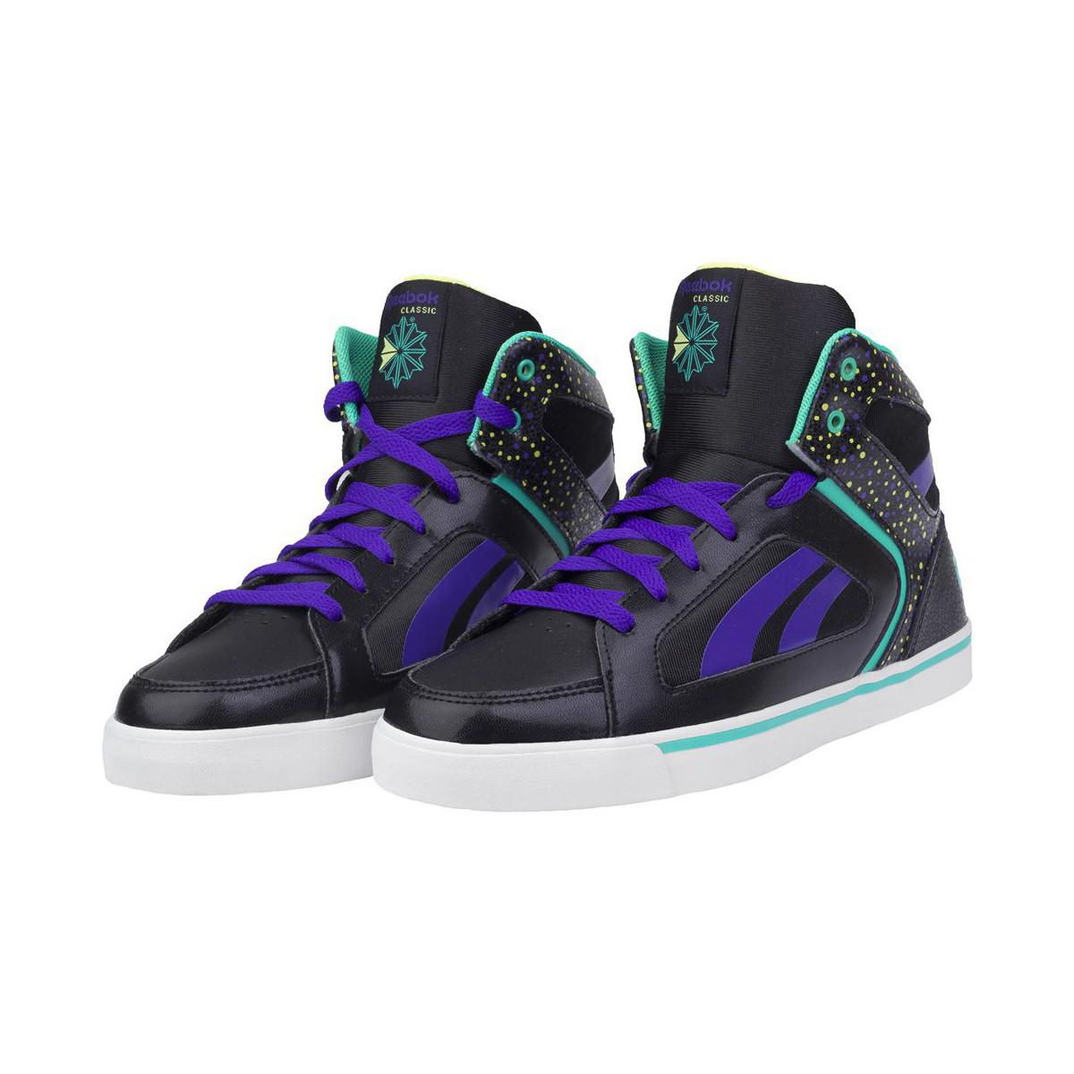 f97ca2adcde74 Reebok Ksee You Mid Women s Shoes (high-top Trainers) In Purple in ...