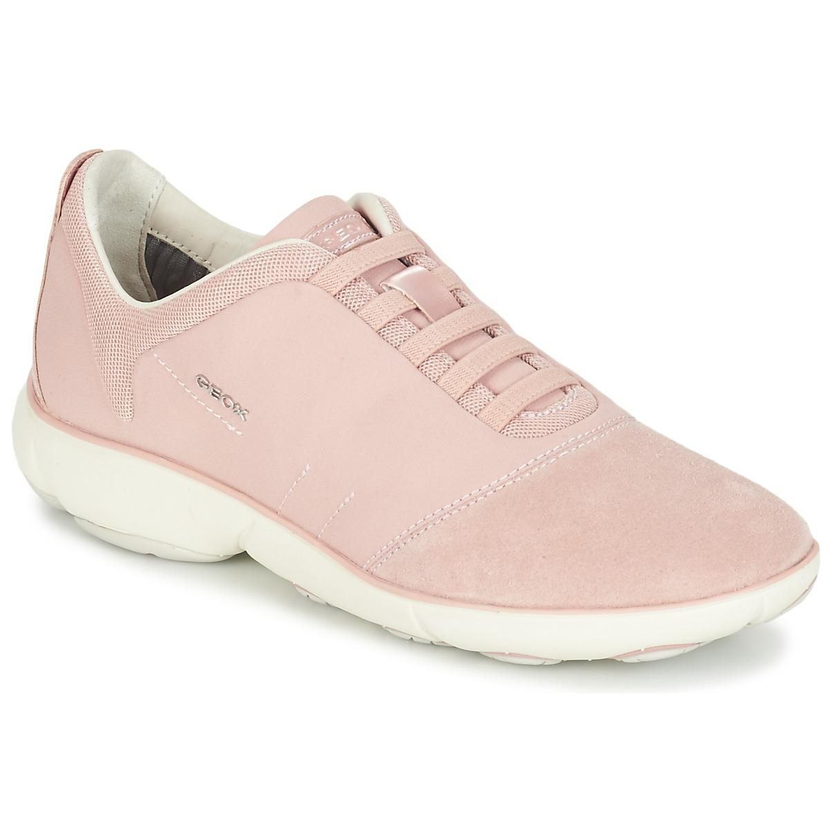 860fe623b70cd Geox D Nebula G Women s Shoes (trainers) In Pink in Pink - Lyst