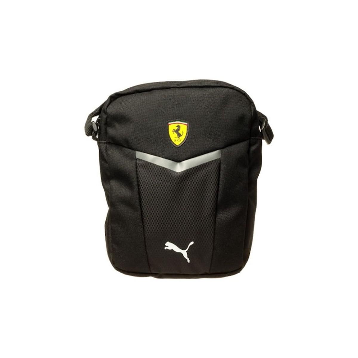 PUMA Ferrari Fanwear Portable Men s Pouch In Black in Black for Men ... cdea294c7c94d