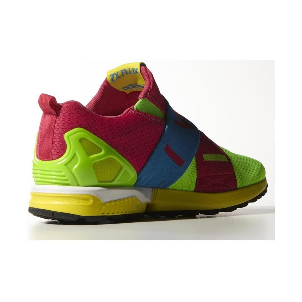 994f67769adac adidas Originals Zx Flux Slipon Men s Shoes (trainers) In Blue in ...