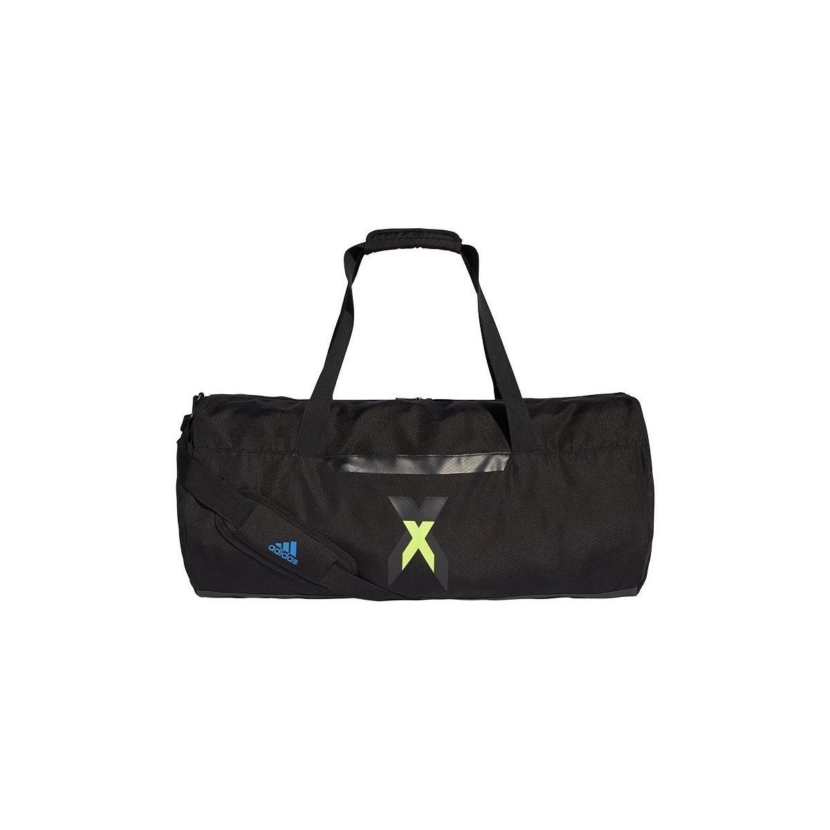 dad267e7f822 adidas Icon Duffel Men s Sports Bag In Black in Black for Men - Lyst