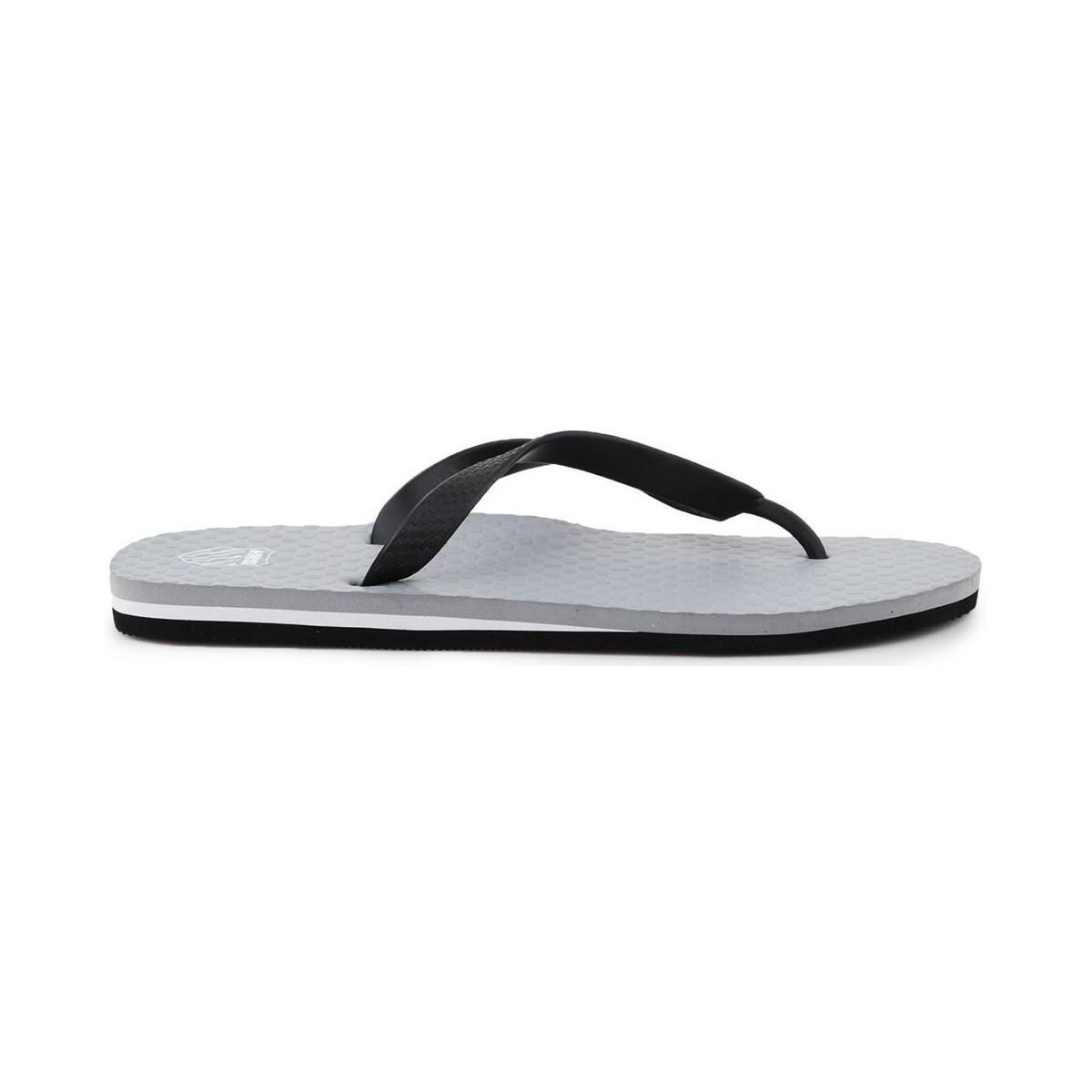 new arrival b189a 38ded K-swiss Zorrie Men's Flip Flops / Sandals (shoes) In Grey in ...