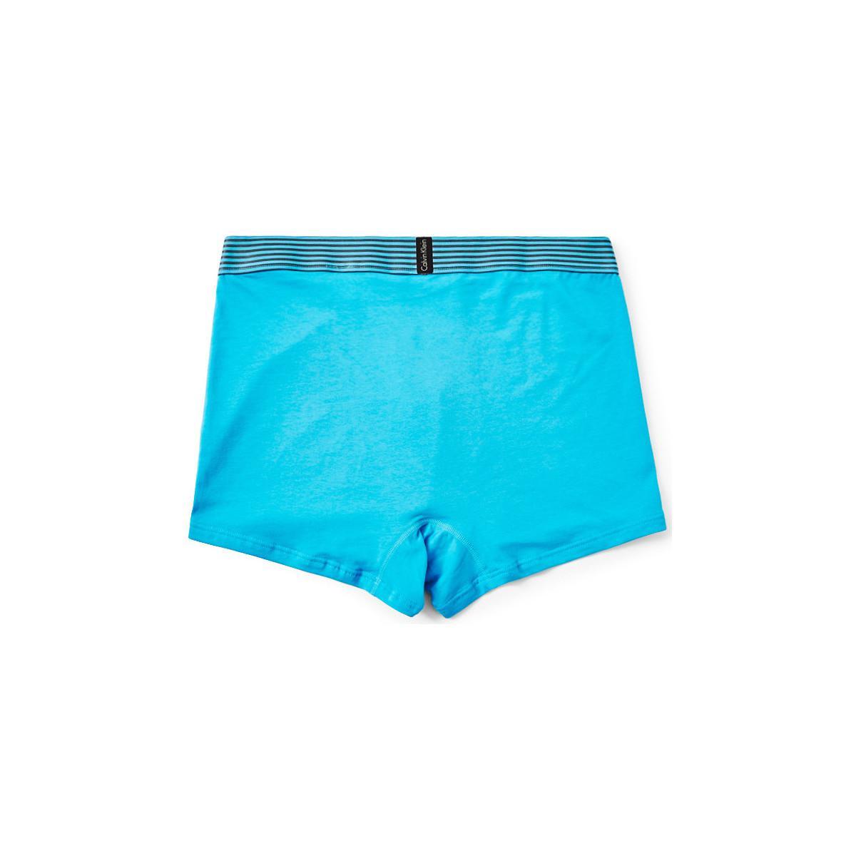 calvin klein jeans iron strength cotton trunk light blue. Black Bedroom Furniture Sets. Home Design Ideas