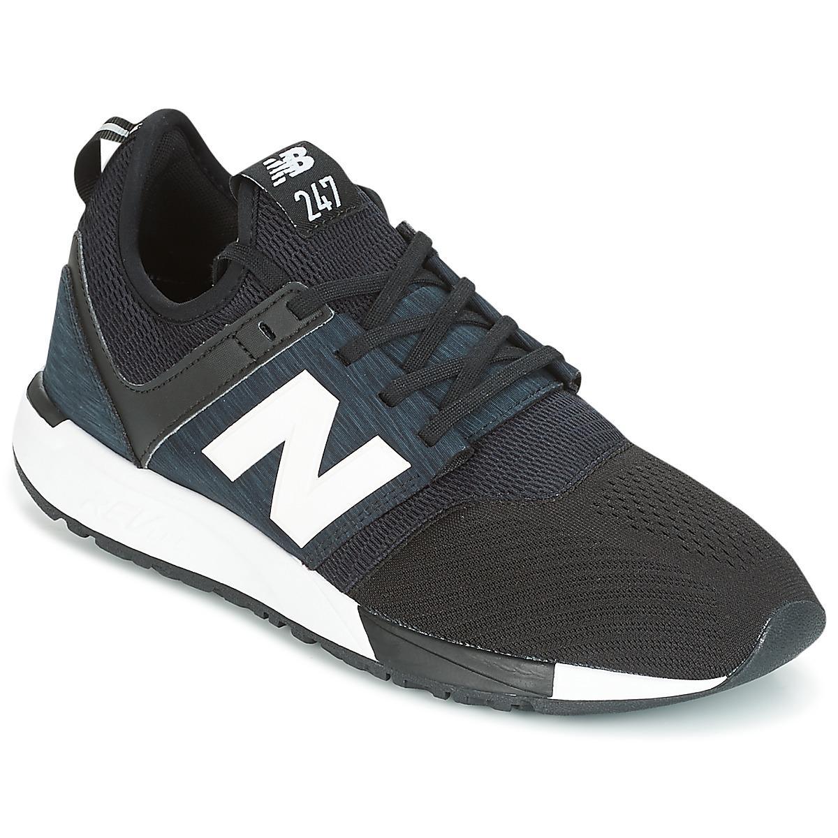 New Balance U 410 KB Schuhe black white   405